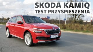 Skoda Kamiq 1.0 TSI 115 KM (AT) - acceleration 0-100 km/h