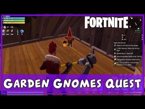 FORTNITE Guide - Daily Destroy (Garden Gnomes)