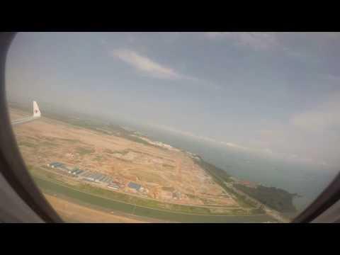 Malaysia Airlines B737-800NG MH624 Singapore - Kuala Lumpur Entire Flight