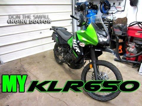 My Kawasaki KLR 650 Dual Purpose Adventure Motorcycle