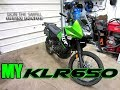 My Kawasaki KLR 650 Dual Purpose Adventure Motorcycle