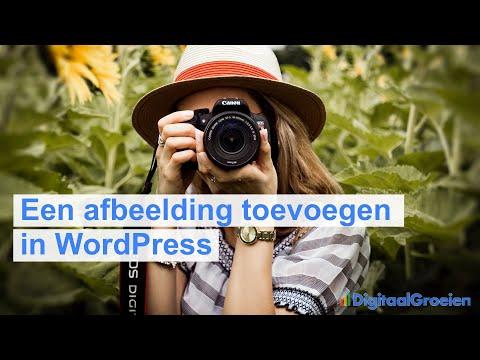 Een afbeelding toevoegen in WordPress