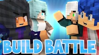 Boys VS Girls: Travis Arrives! | Minecraft Build Battle