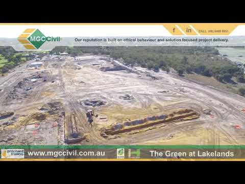 MGC Drone Footage The Green Lakelands Western Australia 20 May 2018