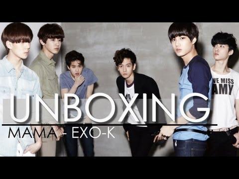 Unboxing - MAMA (EXO-K)