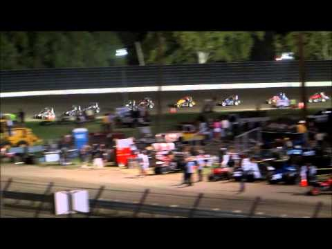 Midgets @ Calistoga Speedway 8 31 14