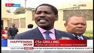 Breaking News: Several CSs appear before DCI over claims of intending to harm DP Ruto