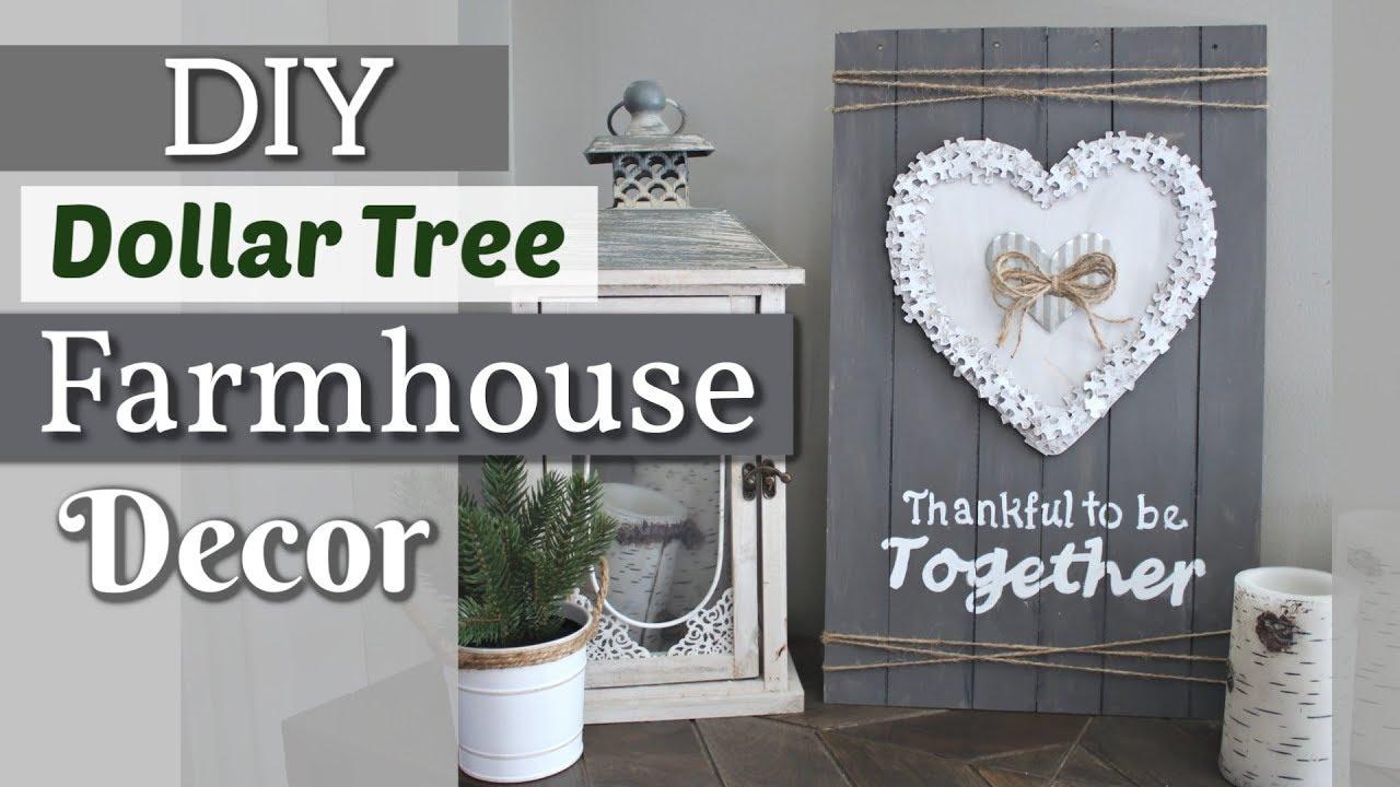 Diy Wall Decor Home Decorating Idea: DIY Dollar Tree Farmhouse Wall Decor