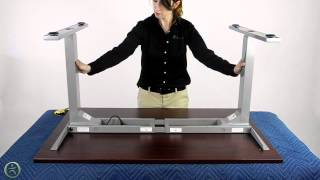 Uplift 900 Electric Desk Assembly -- The Human Solution