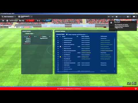 Football Manager 2013 | Arsenal Let's Play S03 E03 : League Starts (3D LIVE GAMEPLAY)