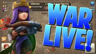 Clash Of Clans War Live!   Using 6 War Attacks!   Bowler Attacks, Lavaloonion, and more!