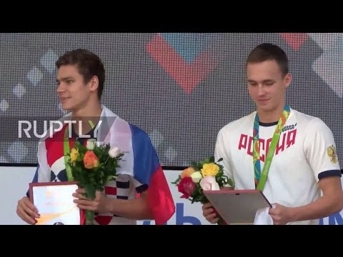 LIVE: Russian bronze Olympic swimmers to be honoured in Rio