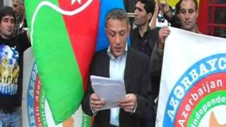 SOUTH AZERBAIJAN people demonstration in LONDON-2O/09/ 2009 (first day of schools starts)4