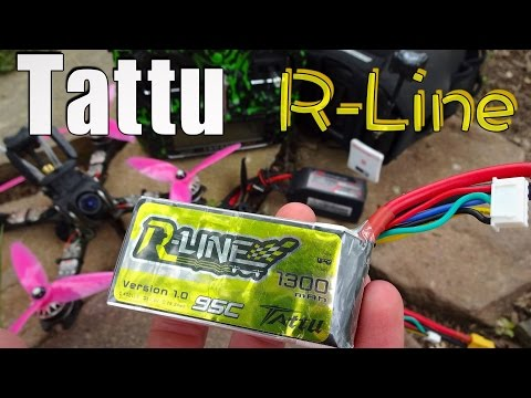 Tattu R-Line 1300mAh 95C Lipo Review