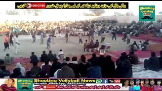 Faisal bhatti vs Akhtar baloch | Part 1 | Best shooting volleyball show match 2018