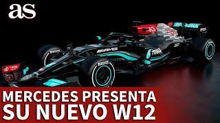 FÓRMULA 1 | MERCEDES presenta su nuevo W12, el monoplaza de HAMILTON y BOTTAS | AS