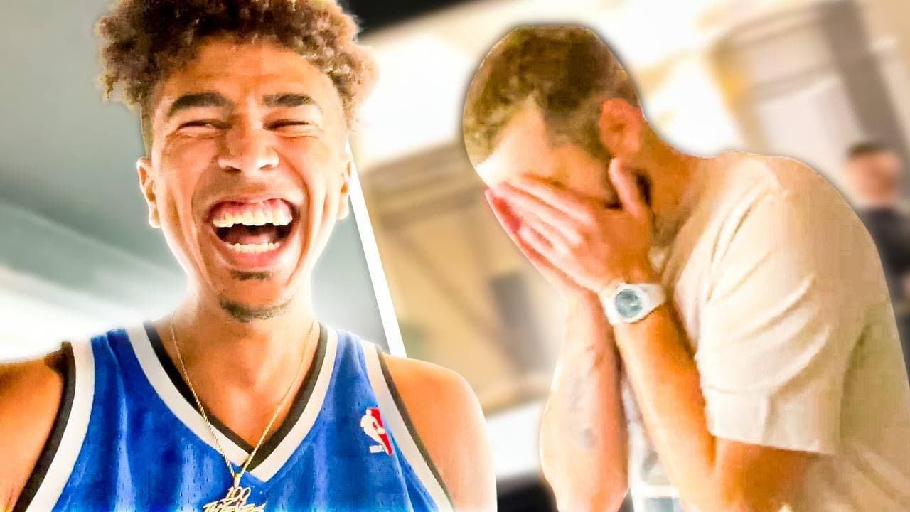 I PRANKED NADESHOT SO BAD! *He Was Heated* Vlog #1