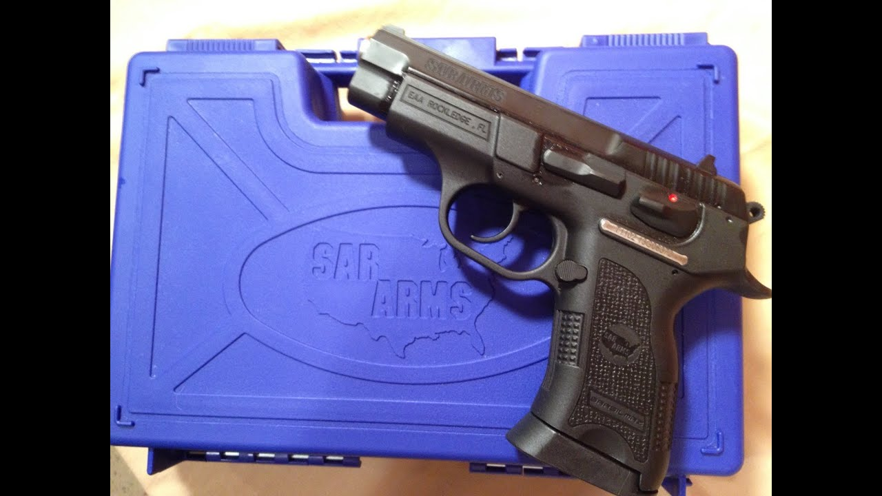 The Sar B6P-C, 9mm compact pistol delivered!