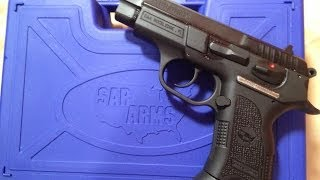 the sar b6p c 9mm compact pistol delivered