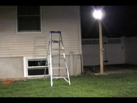 upwc 500 watt halogen arena lights camera test