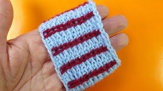 ОЧЕНЬ РЕДКИЙ УЗОР ДЛЯ ШАПКИ мастер класс вязания крючком Crochet pattern101