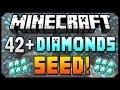 Minecraft 1.8.3 Seeds - 42+ DIAMONDS AT SPAWN! - Best Diamond Seed