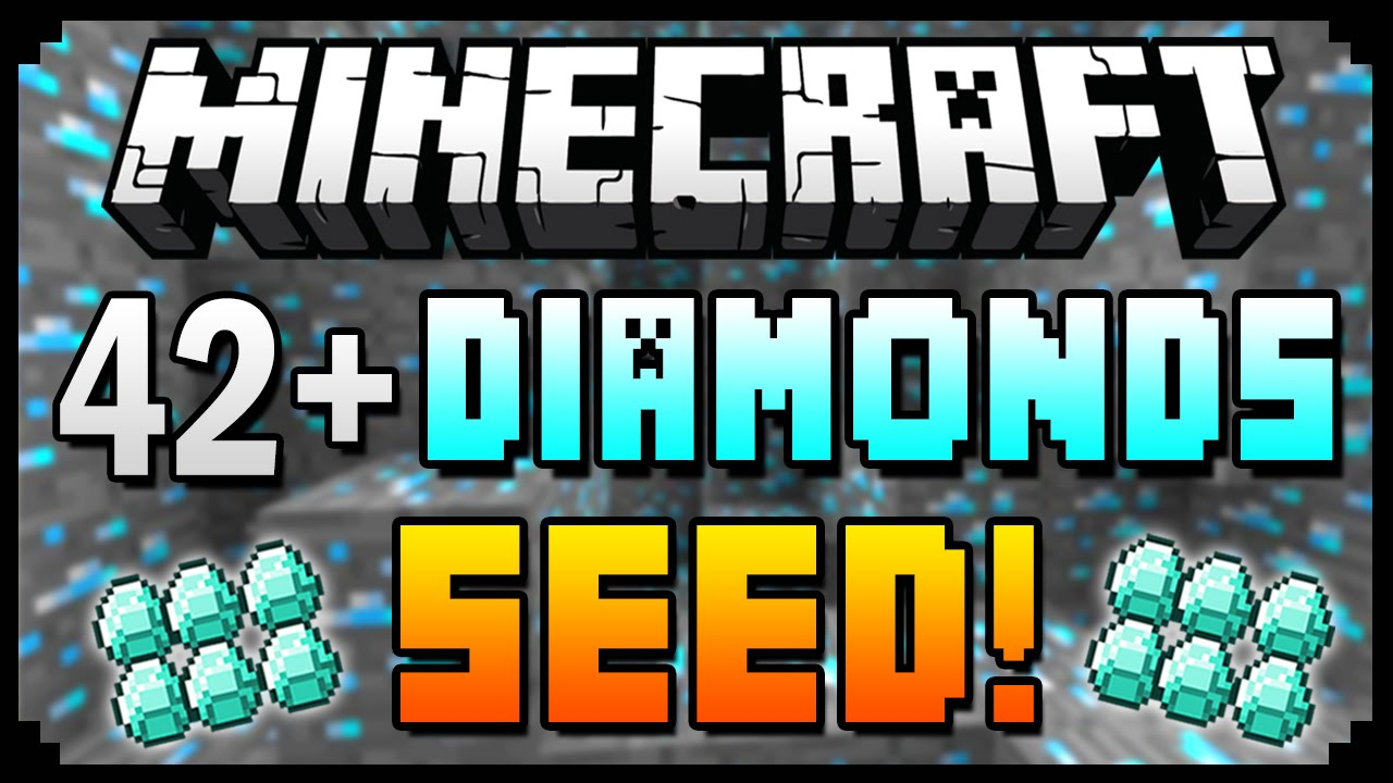 Minecraft pe diamond seeds epic minecraft pe seeds.
