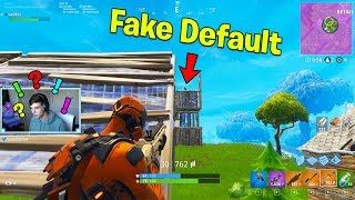 NEW VERTEX SKIN vs The Best FAKE DEFAULT Ever! | Fortnite Battle Royale Gameplay