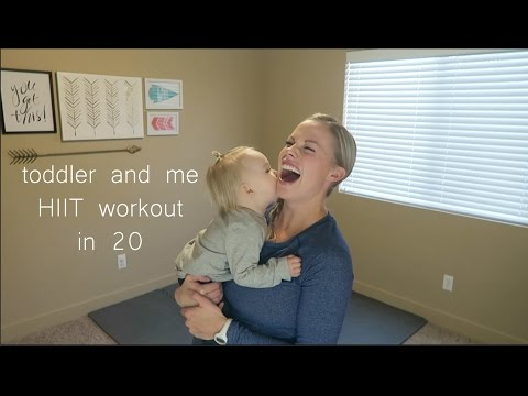 Toddler and Me HIIT Workout #3