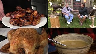 Breaking Down a Chicken, Turn a Chicken into an Eagle,  Sweet Potato Soup (Episode #376)