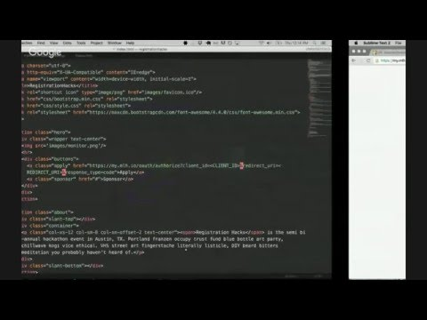 MLH Office Hours: MyMLH - Hackathon Registration Made Easy with Niko Lazaris