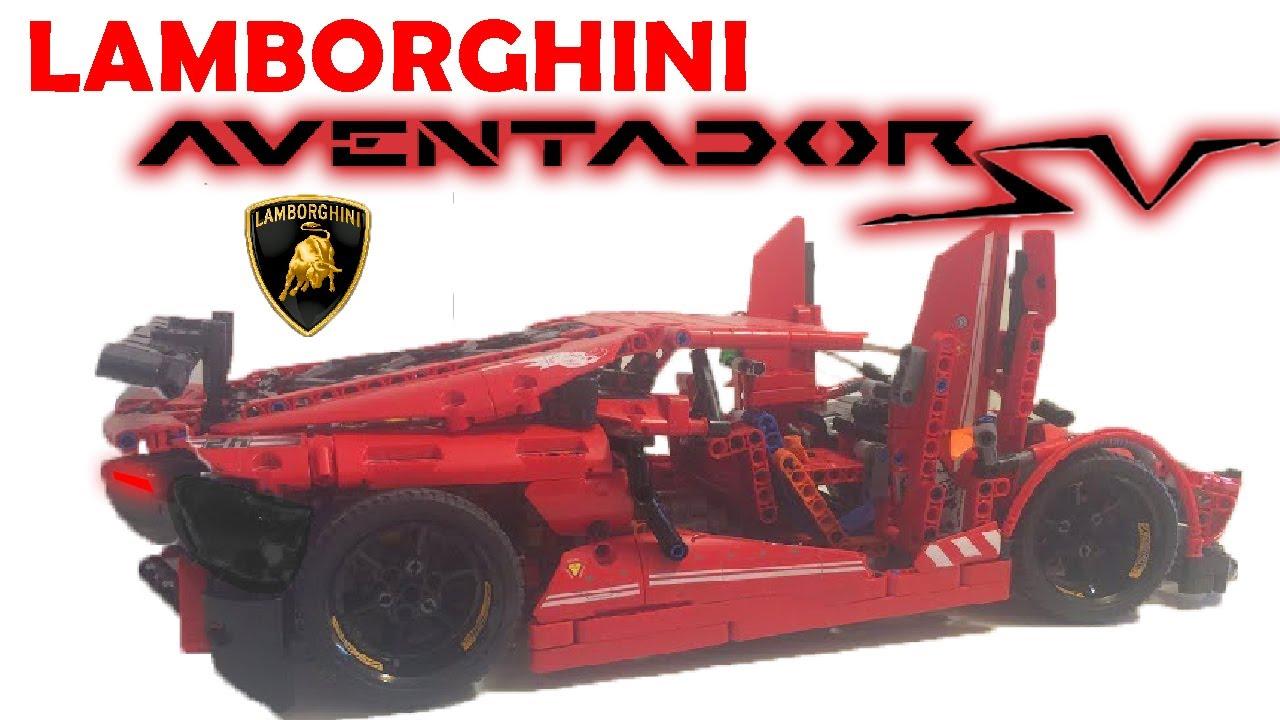 Moc Lamborghini Aventador Sv Lp750 2 Lego Technic V2 Special 200