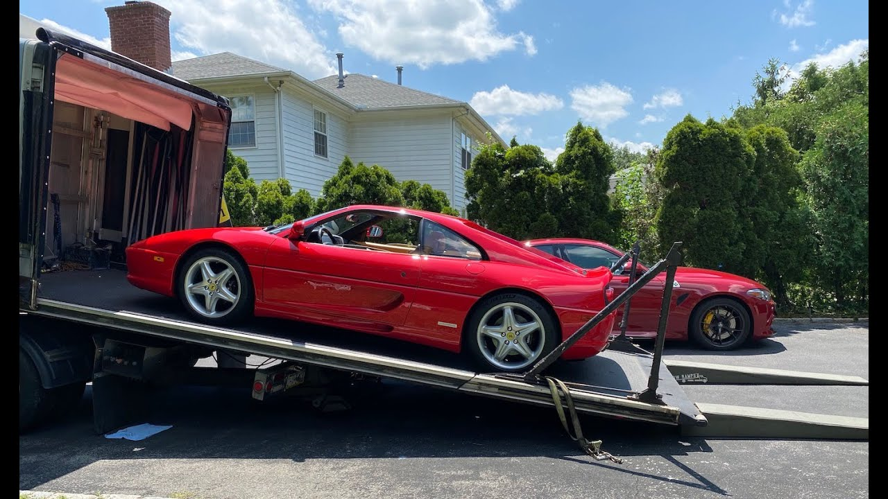 Ferrari F355 Berlinetta Delivery and Overview   Auto Fanatic