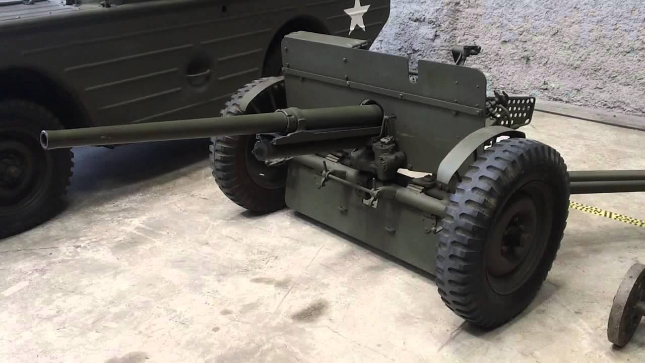 M Mm Antitank Gun National WW II Museum New Orleans Louisiana - Gun museums in usa