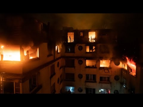 Fire in upscale Paris apartment building kills nine