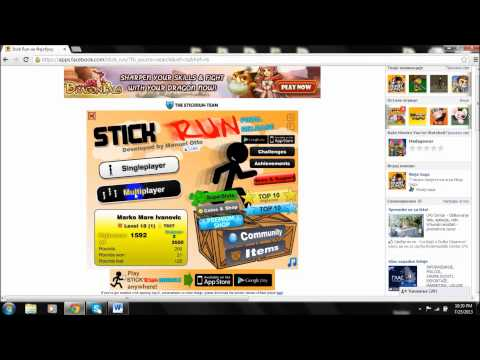 Stick Run Glitch |Srpski tutorijal|
