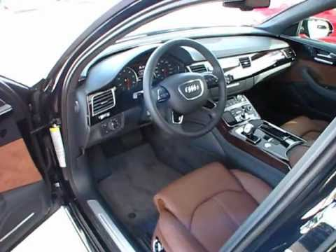 2012 Audi A8-L 4.2 Start Up, Exterior/ Interior Review ...