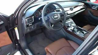 2012 audi a8 l 4 2 start up exterior interior review