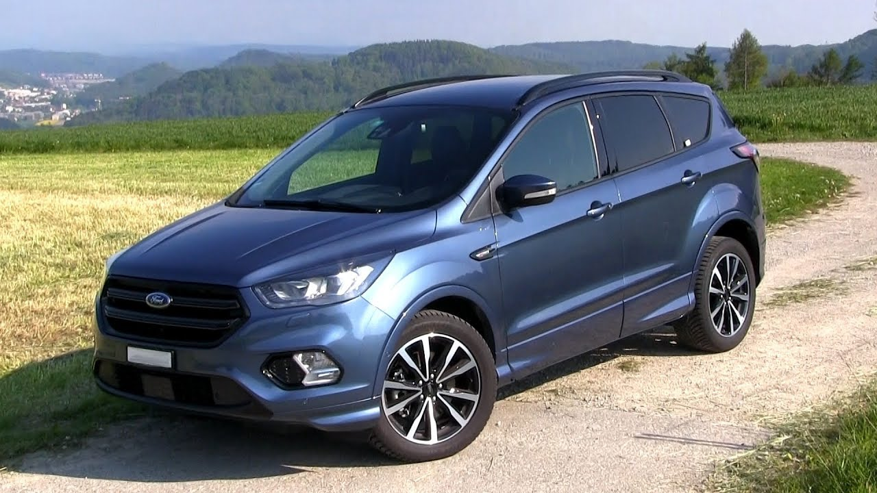 2019 ford kuga 2 0 tdci awd 150 hp test drive youtube. Black Bedroom Furniture Sets. Home Design Ideas