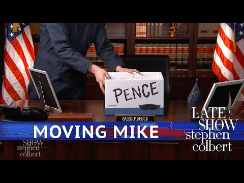 Mike Pence Loses Some Office Space