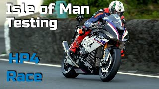 BMW HP4 Race | Isle of Man 🇮🇲 | Exhibition Lap | Peter Hickman