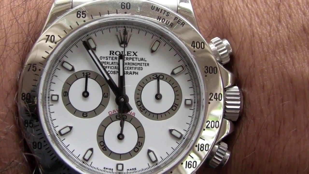 bfca04ea889 Rolex Daytona - YouTube