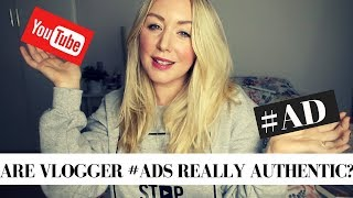 Are Vlogger #ADS Really Authentic?   How Brands Hire Vloggers  #valuevloggers