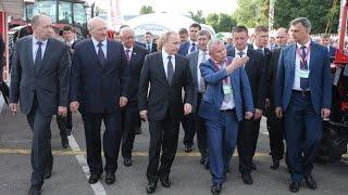 Александр Лукашенко и Владимир Путин посетили выставку «БелАгро-2016»