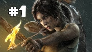 Tomb Raider 2013 Gameplay Walkthrough Part 1 - Epic Cinematic!