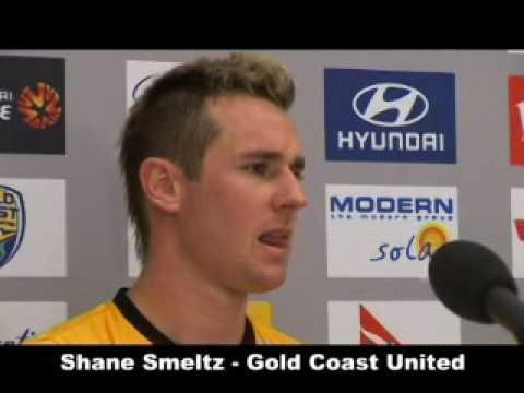 Hyundai A-League Shane Smeltz Gold Coast United