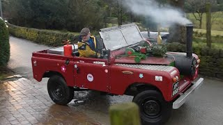 Pensioner Builds Steam Land Rover