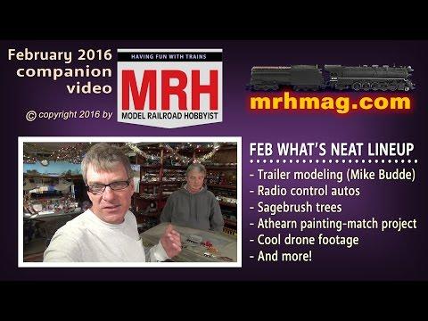 What's neat - February 2016 column | Model railroad tips | Model Railroad Hobbyist | MRH