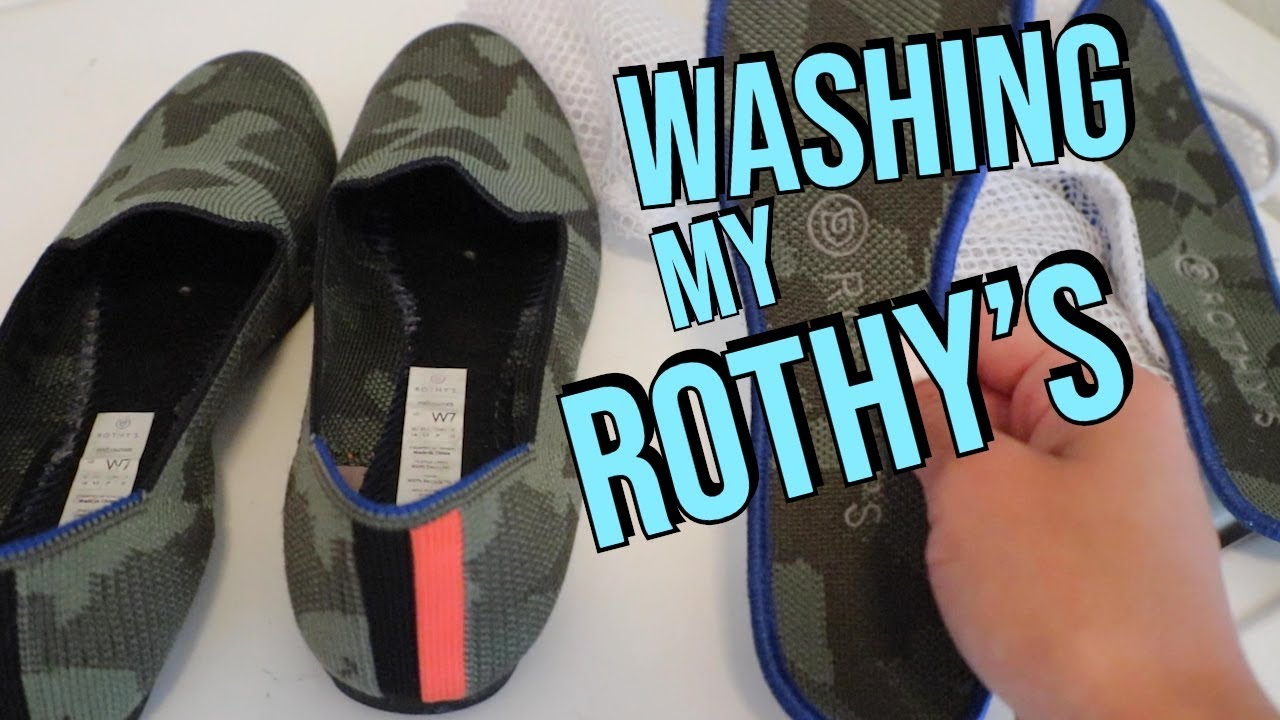 Washing Rothy's Loafers - YouTube
