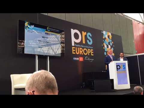 Searious Business wins Plastic Recycling Europe - Ambassador Award 2018